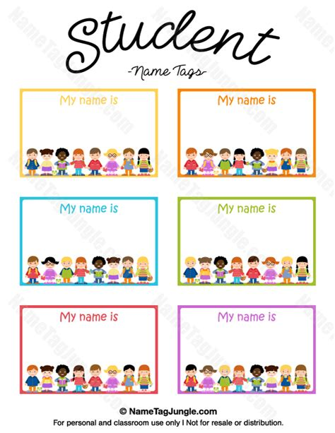 esl printable name tags free printable student name tags the template can also be