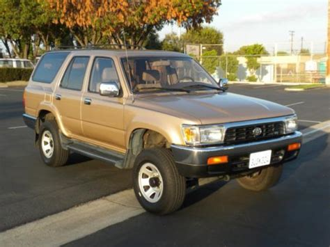 airbag deployment 1994 toyota 4runner transmission control buy used 1994 toyota 4runner sr5 v6 4wd museum condition 1 owner no reserve towing pkg in