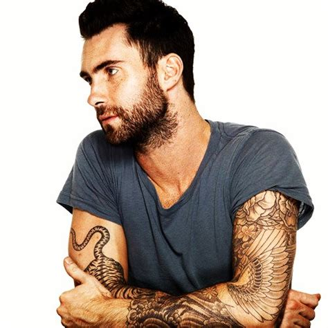 maroon 5 tattoo daily vibes adam levine tattoos