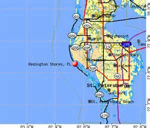 map of redington florida redington shores florida fl 33708 profile population