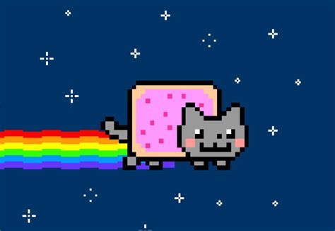 Nyan Cat Meme - best and most important internet memes of 2011 blog