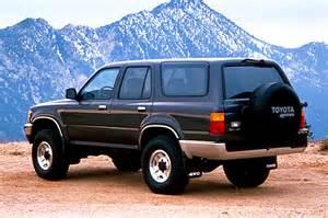 Toyota 4runner 1990 1990 95 Toyota 4runner Consumer Guide Auto