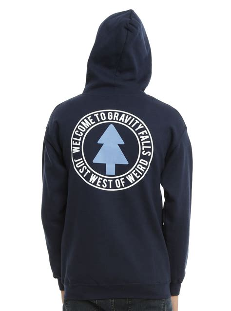 Hoodie Ff Vii 2 disney gravity falls tree logo zip hoodie gravity falls tree logos fall trees