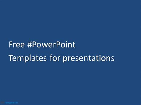 Free Minimalism Ppt Template Microsoft Powerpoint Templates To