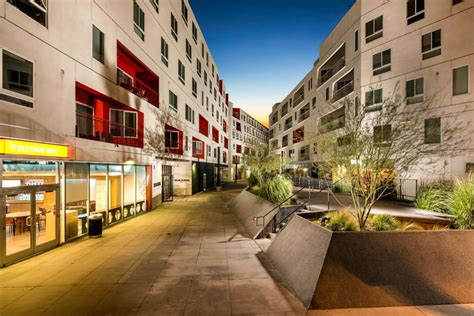 Santa Appartments by Dtla Rising With Brigham Yen