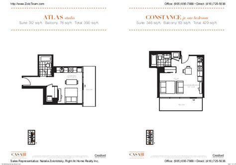 casa fortuna floor plan casa 3 condominiums in toronto on floor plans