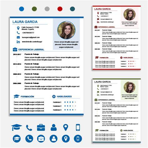 Plantillas De Curriculum Vitae Innovador 50 Tipos De Curriculum Vitae Para Diferenciarte De Tu Competencia Con 2 S 250 Per Packs