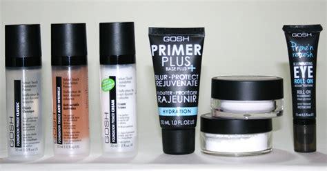 Gosh With gosh cosmetics primers uk
