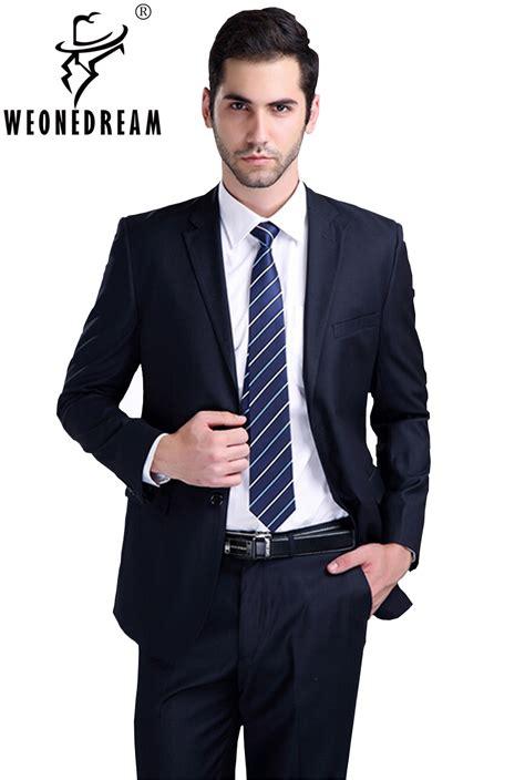 aliexpress com buy jacket pant tie suit male slim