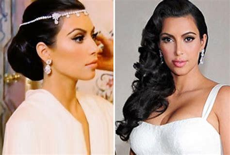 kim k wedding hair kim kardashian s wedding day hair speculation begins