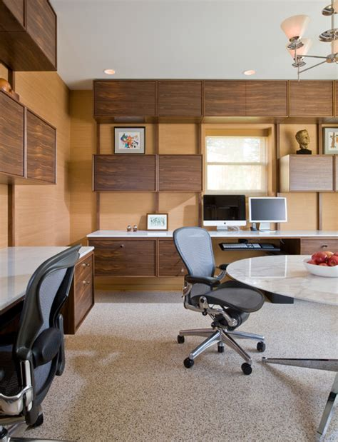 home office modern design ideas 16 spectacular mid century modern home office designs for a retro feel