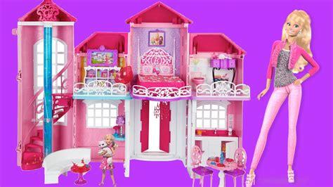 Barbie life in the dreamhouse barbie malibu dollhouse