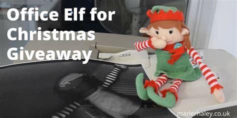 Office Christmas Giveaways - elf for christmas giveaway marler haley