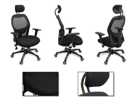 ergonomic office chair with adjustable lumbar support new mesh ergonomic office chair w adjustable headrest