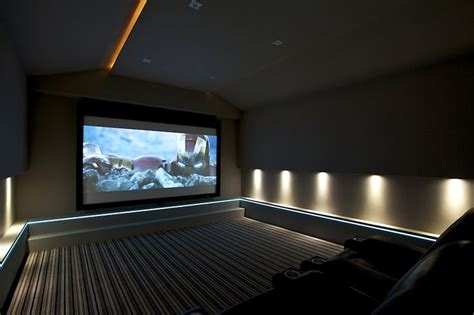 home cinema lighting design light tape home theatre lighting by finite solutions leeds uk light tape 174 was fitted at a