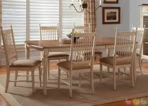 Casual Dining Room Sets by Cottage Cove Ivory Finish Casual Dining Room Set