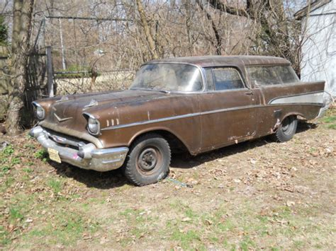 nomad car 1957 1957 chevy nomad great project car chevrolet