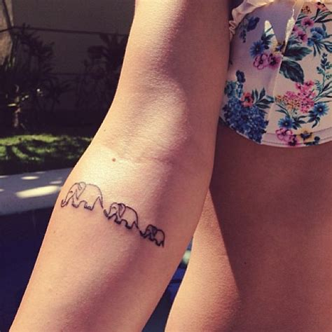 tattoo arm little small elephants tattoo on arm tattooshunt com