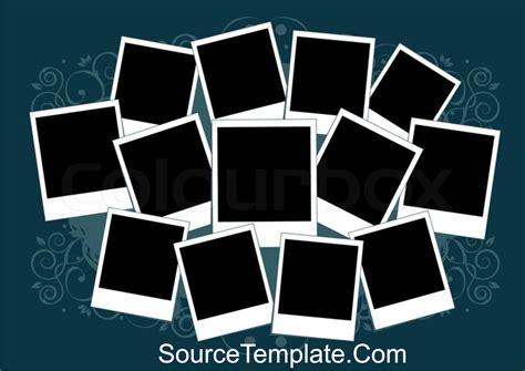 Printable Polaroid Template Word Editable Free Download Printable Collage Template