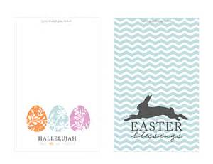 free easter card printable
