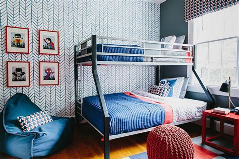 chevron pattern room ideas 21 creative accent wall ideas for trendy kids bedrooms