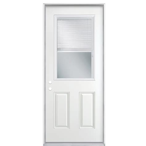 Exterior Doors With Blinds Between Glass Entry Doors Entry Doors Blinds Between Glass
