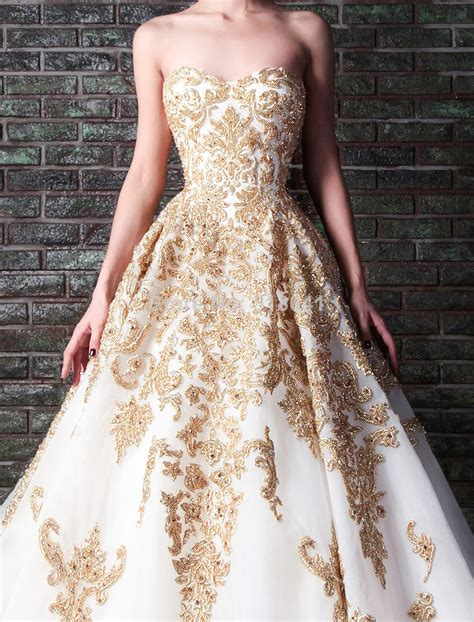 White And Gold Wedding Dresses – White And Gold: White And Gold Wedding Dresses
