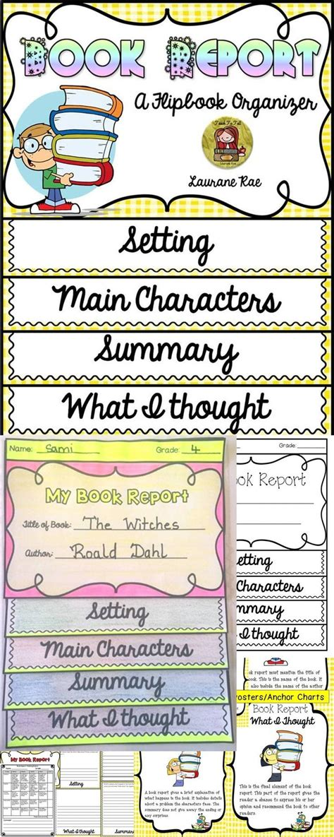 ideas for book reports book report outline 4th grade book report lesson plans