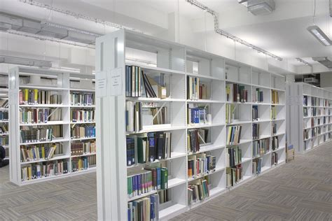 Library Shelving Perforated Shelving Uprights Rackline