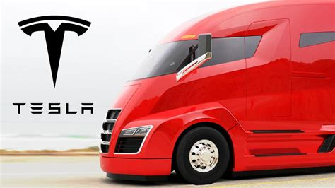 is tesla electric tesla electric semi truck truckerplanet