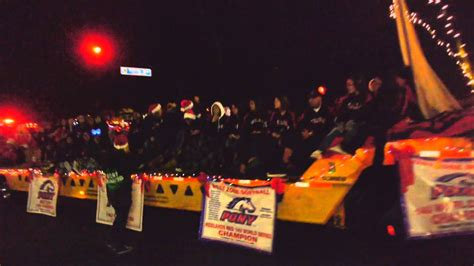 redlands ca christmas parade 2012 part 4 youtube