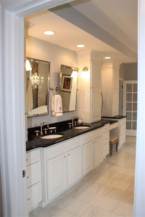 black granite countertops in bathroom best 20 granite countertops bathroom ideas on pinterest