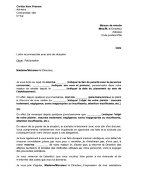 Exemple De Lettre De Motivation Maison De Retraite Modele Lettre De Motivation Maison De Retraite