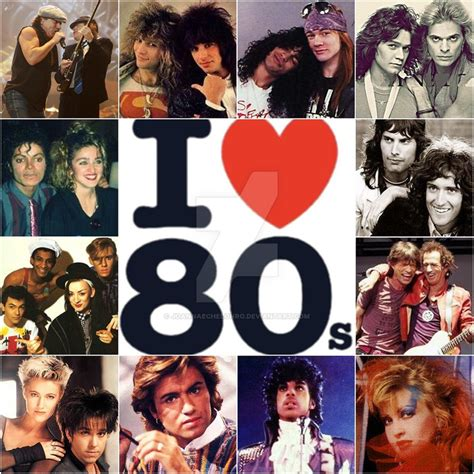 music in 80s i love the 80 s by joannaechelonro on deviantart