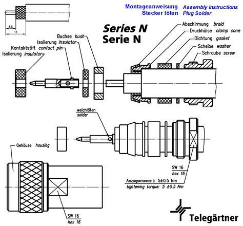 Perangkat Elektronik Solder Wick Goot Wick Original n stecker rg213 u rg214 u mil standard ug21 u grieder elektronik bauteile ag