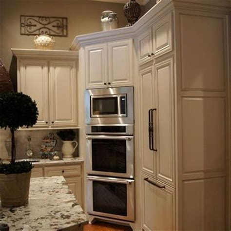 Kitchen Oven Cabinets 1000 ideas about double ovens on pinterest double oven