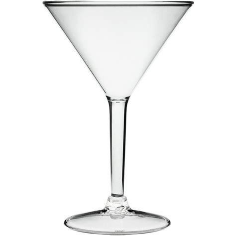 martini glass acrylic acrylic martini glass 8 8oz 250ml barmans co uk
