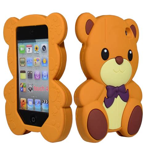Samsung J7 Prime 3d Teddy Brown Soft Silicone T1910 image gallery ipod nano animal cases