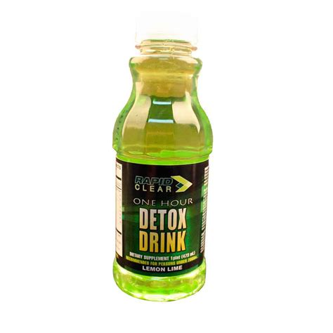 A Detox Drink That Works by Rapid Clear Detox Drinks
