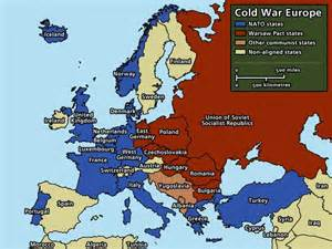 show us a map of europe this political map shows europe in 1945 this connects to