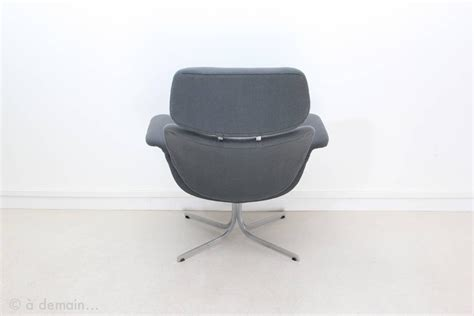 big chair with ottoman 1965 big tulip lounge chair with ottoman by pierre paulin