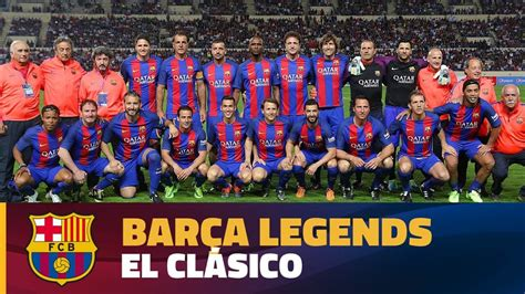 Barcelona Legend | highlights fc barcelona legends real madrid leyenda