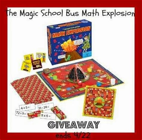 Reddit Game Giveaway - magic school bus math explosion game giveaway raising whasians