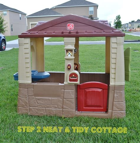 step 2 neat tidy cottage get outside with the family for kmartsummerfun my boys and their toys