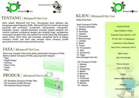 contoh layout profil perusahaan contoh booklet joy studio design gallery best design