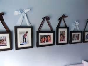 simple idea for decorate picture frames with colored