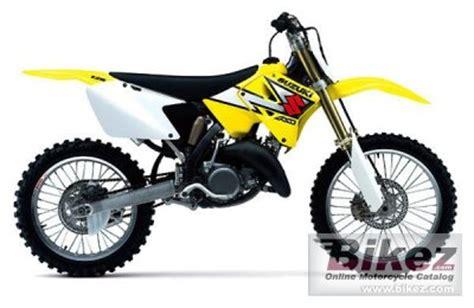 Suzuki 125 Dirt Bike 2 Stroke 2003 Suzuki Rm 125 Specifications And Pictures