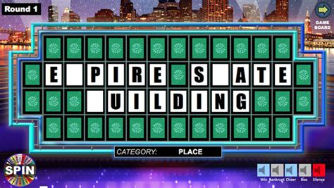 wheel of fortune powerpoint game show templates wheel of