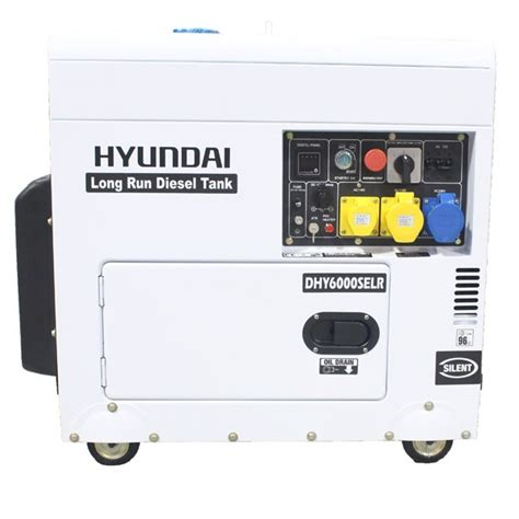 hyundai 5 2kw silent running standby diesel
