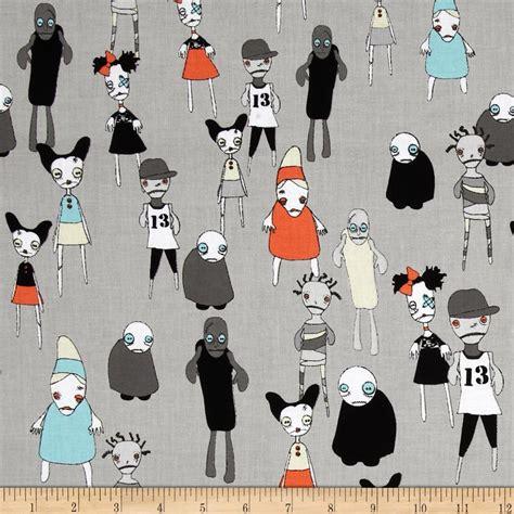 zombie pattern fabric riley blake zombie apocalypse zombie attack grey